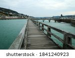 The Wooden Pedestrian Bridges...