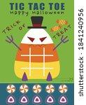 halloween candy corn tic tac... | Shutterstock .eps vector #1841240956