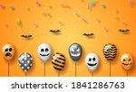 orange paper cut background... | Shutterstock .eps vector #1841286763