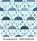 Rain Drops And Umbrellas...