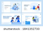 web page design templates... | Shutterstock .eps vector #1841352733