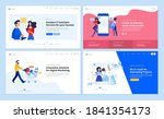 web page design templates... | Shutterstock .eps vector #1841354173