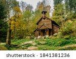 Old Wooden Pilgrimage Rural...