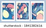 minimalist geometric abstract... | Shutterstock .eps vector #1841382616
