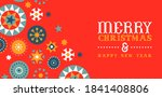 merry christmas happy new year... | Shutterstock .eps vector #1841408806