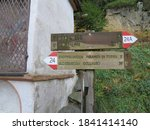 Tourist Paths Directions And...