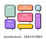 set different shape pixel... | Shutterstock .eps vector #1841415883