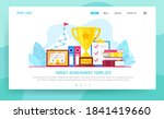 target achievement of business... | Shutterstock .eps vector #1841419660