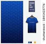 fabric pattern design.... | Shutterstock .eps vector #1841423776