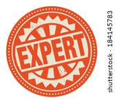abstract stamp or label with... | Shutterstock .eps vector #184145783