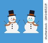 One Regular Snowman With One...