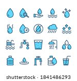 water line simple pictogram...   Shutterstock .eps vector #1841486293