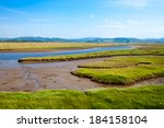 Moine Mhor National Nature Reserve in Scotland - stock photo