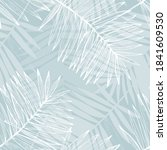 abstract tropical foliage... | Shutterstock .eps vector #1841609530