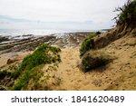 Path Access Dune Sandy Beach...