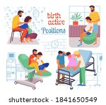 pregnancy preparing  wife and... | Shutterstock .eps vector #1841650549