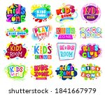 kids zone banner design set of... | Shutterstock .eps vector #1841667979