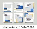 hype social media post template ...   Shutterstock .eps vector #1841685706