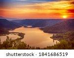 Amazing Sunrise At Krka River...
