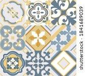 Vintage Seamless Tile Pattern...