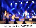 outdoor rock concert light... | Shutterstock . vector #184172318