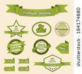 ribbons   Shutterstock .eps vector #184174880