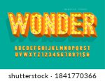 retro cinema font design ... | Shutterstock .eps vector #1841770366