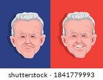 caricature of joe biden....   Shutterstock .eps vector #1841779993