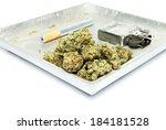 marijuana  weed  pot  cannabis  | Shutterstock . vector #184181528