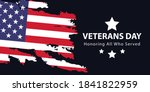veterans day  memorial day ...   Shutterstock .eps vector #1841822959