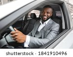 Smiling Young Black Businessman ...