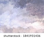 soft pink and blue clouds... | Shutterstock .eps vector #1841931436