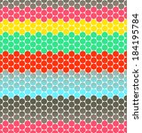 polka dots stripes with... | Shutterstock . vector #184195784