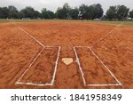 View Of A Softball Field From...