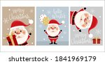merry christmas and happy new... | Shutterstock .eps vector #1841969179