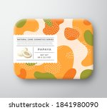 fruits bath cosmetics box.... | Shutterstock .eps vector #1841980090