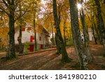 Mountain Village In The Autumn...