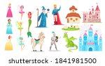 fairy tale characters vector... | Shutterstock .eps vector #1841981500