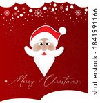 simple christmas greeting... | Shutterstock .eps vector #1841991166