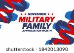 national military family month... | Shutterstock .eps vector #1842013090