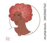 illustration of aries...   Shutterstock .eps vector #1842060763