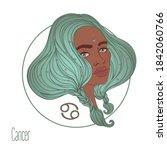 illustration of cancer...   Shutterstock .eps vector #1842060766