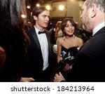 zac efron  vanessa hudgens in... | Shutterstock . vector #184213964
