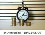 Selective Focus Of A Clock With ...