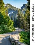 The Road Through Mount Rainier...
