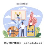 physical education or school... | Shutterstock .eps vector #1842316333