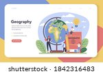 geography class web banner or... | Shutterstock .eps vector #1842316483