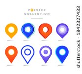 collection different point... | Shutterstock .eps vector #1842327433