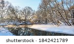 Frosty Winter Scene With ...