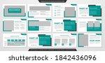 business presentation template...   Shutterstock .eps vector #1842436096